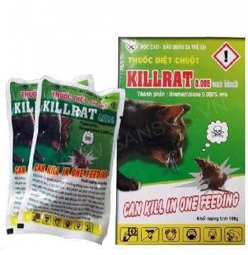 Thuốc diệt chuột sinh học Killrat